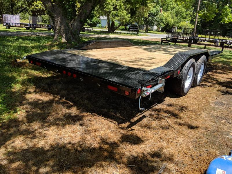 "2020 PJ Trailers 20'x6"" Channel Super-Wide Trailer"