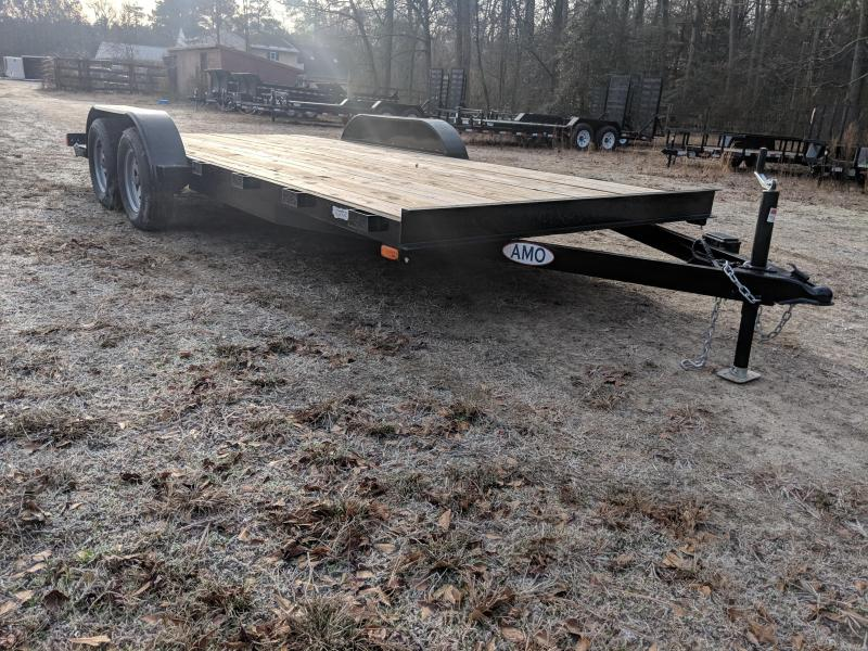 2019 American Manufacturing Operations (AMO) 18' WOOD Equipment Trailer