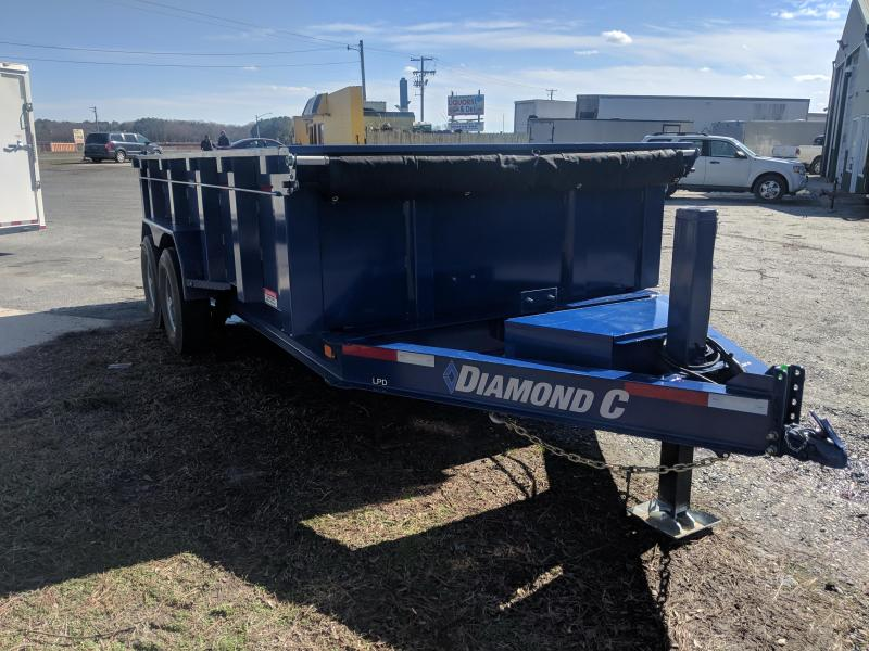 2020 Diamond C Trailers LPD Dump Trailer