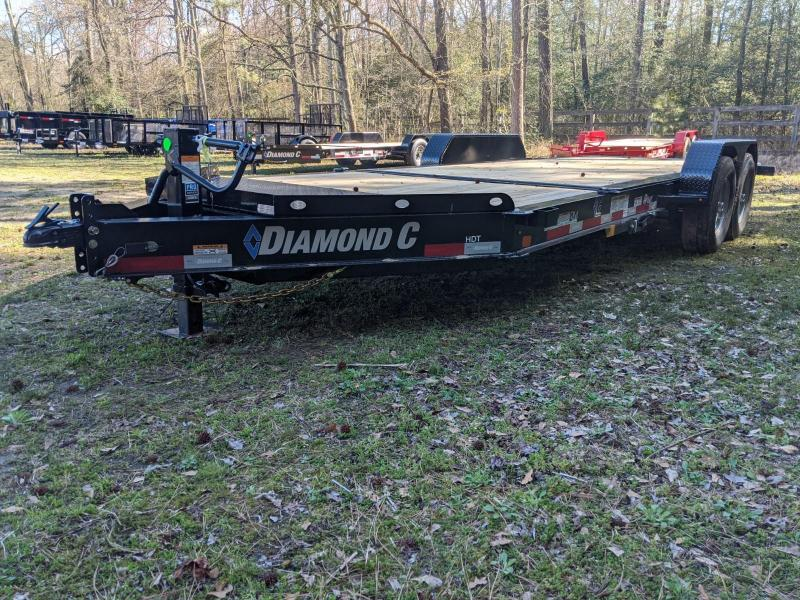 2020 Diamond C Trailers HDT 20' 16+4 Equipment Trailer