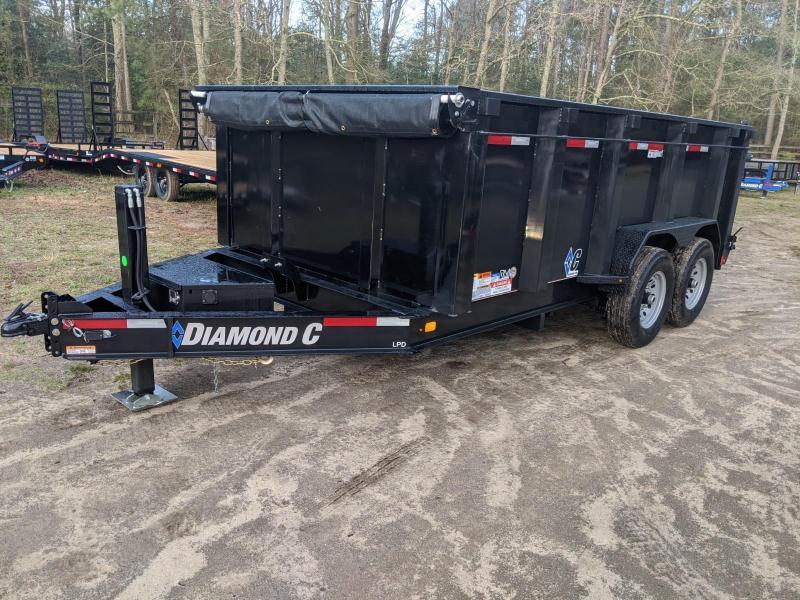 2020 Diamond C Trailers LPD 14' 620-HOIST Dump Trailer