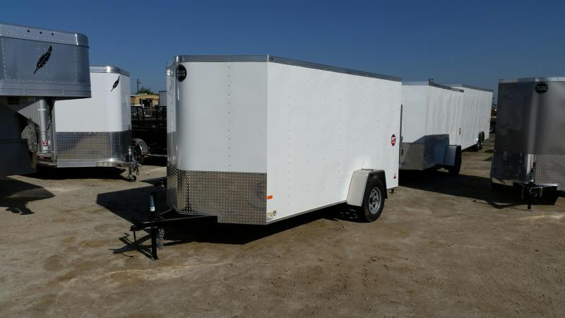 2020 Wells Cargo FT6121-LE Enclosed Cargo Trailer