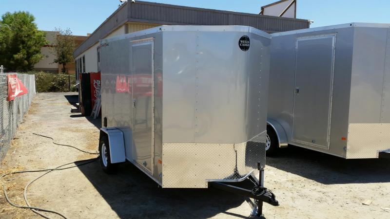 2020 Wells Cargo RFV610S2 Enclosed Cargo Trailer