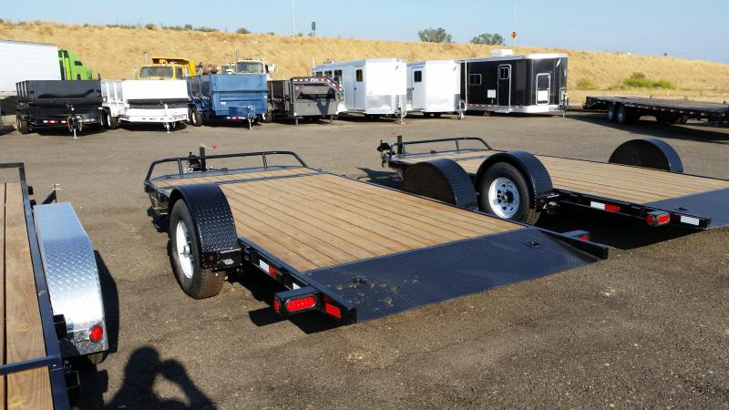 2020 PJ Trailers Single Axle HD Tilt (T1) Equipment Trailer