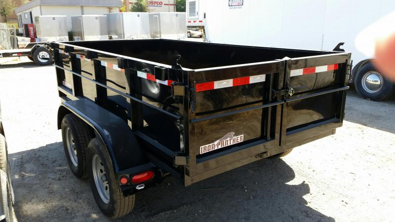 2020 Iron Panther DT095 5X10 X2 Dump Trailer