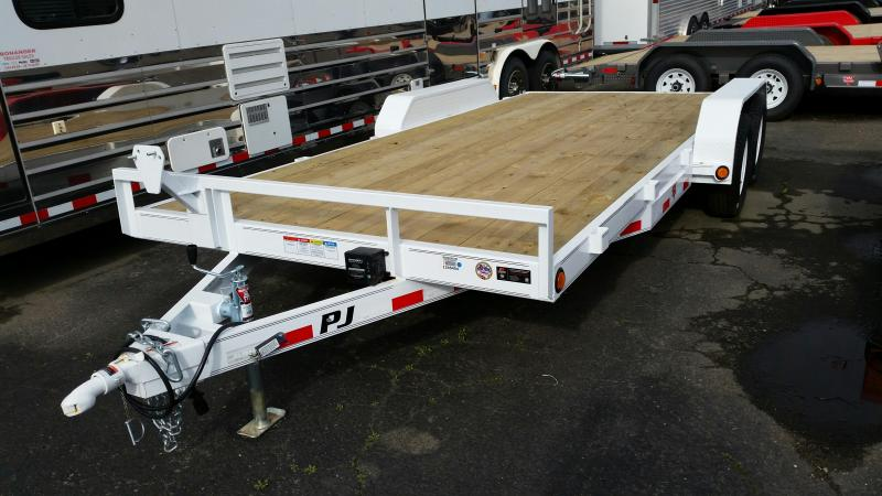 2019 PJ Trailers 5 in. Channel Equipment (CE) Car / Racing Trailer