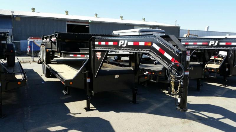2019 PJ Trailers Low-Pro Flatdeck with Duals (LD) Equipment Trailer