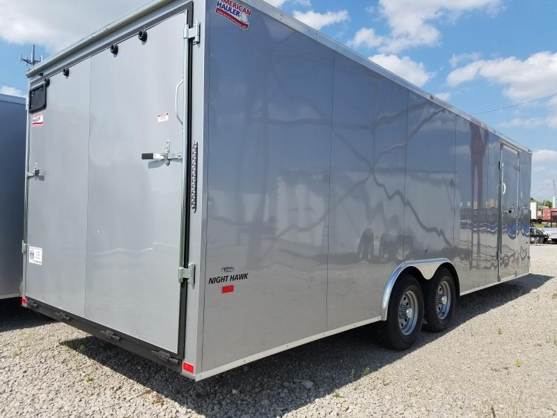 2018 American Hauler 8.5x24  Night Hawk 6'6 Enclosed Cargo Trailer
