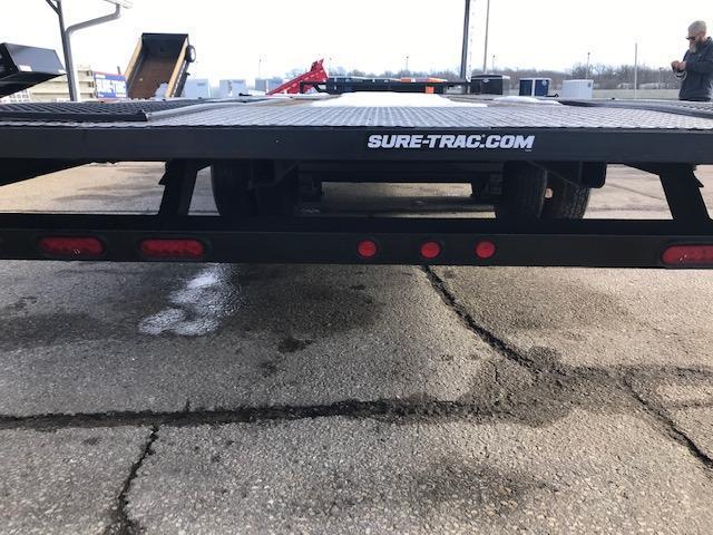 2013 Sure-Trac Hydraulic Tilt Equipment Trailer