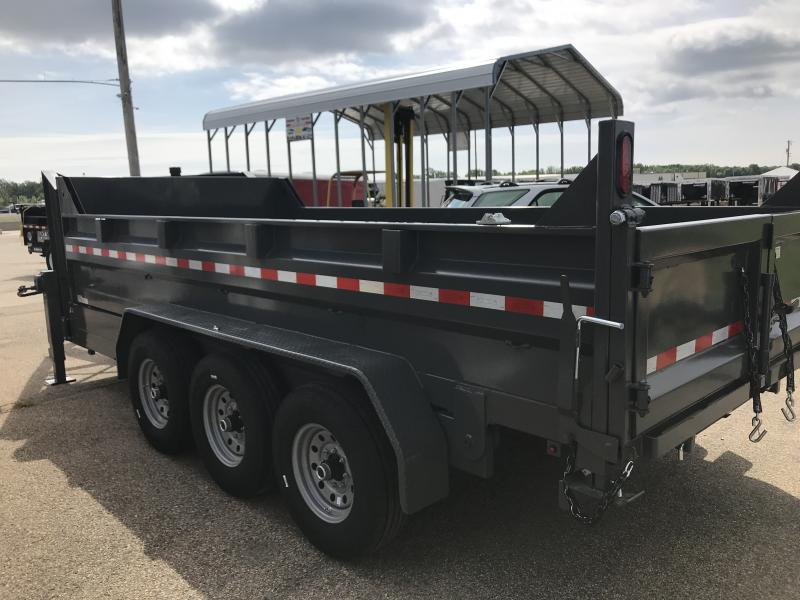 2020 Sure-Trac 82 IN X 16 LProfile 21K Tri-Axle Telescopic Goose