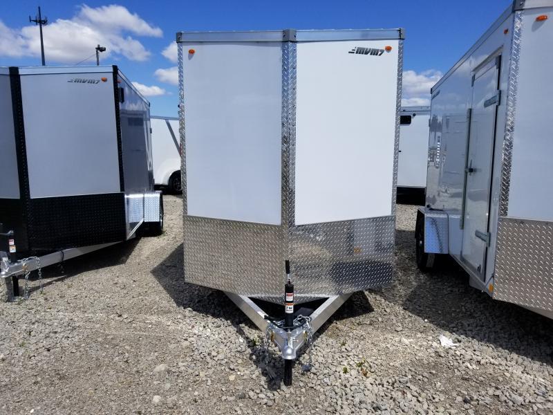 2019 MVM7 Alum Enclosed Cargo Trailer