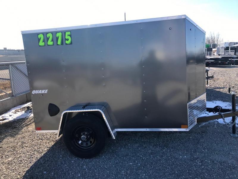2020 Impact Trailers Quake Enclosed Cargo Trailer