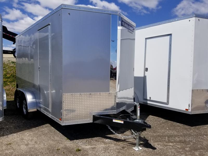 2019 Sure-Trac 7 x 14 Pro Series Wedge Cargo TA 7K