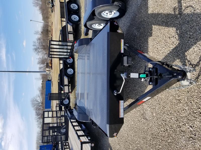 2018 Sure-Trac 7 x 18 Steel Deck Car Hauler 10k