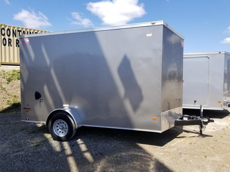 2019 American Hauler 7x12 7' Arrow Enclosed Cargo Trailer