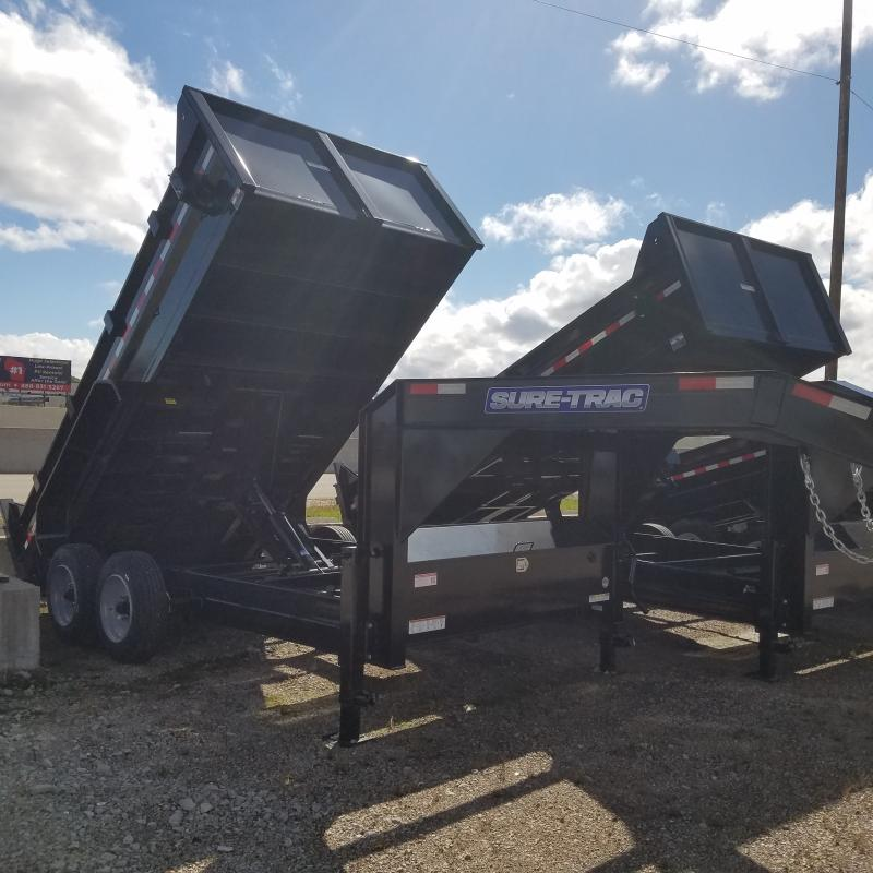 2019 Sure-Trac 82 IN X 14 LP 16K Goose Scissor Dump