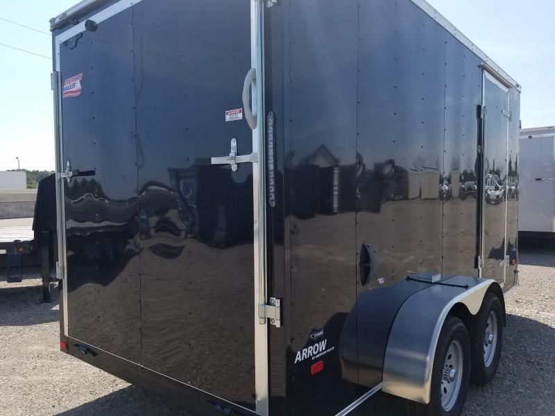 2019 7x14 American Hauler 7' Arrow Enclosed Cargo Trailer