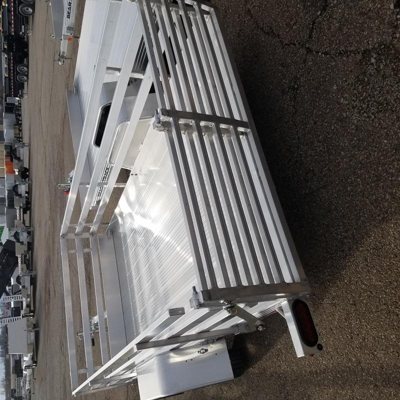 2020 Bear Track 6x10 Aluminum Utility Trailer