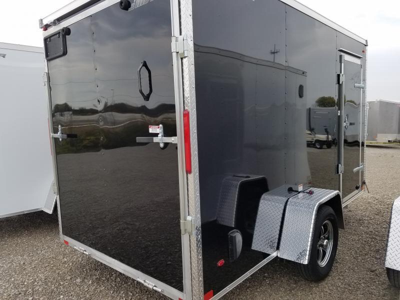 2019 MVM7 6x12 Aluminum Enclosed Cargo Trailer
