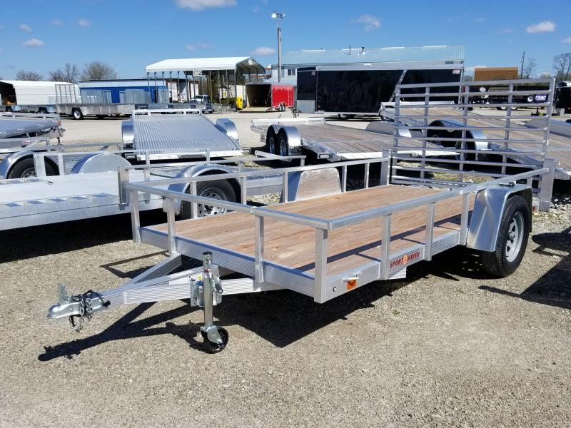 2019 Sport Haven Alum Utility Trailer