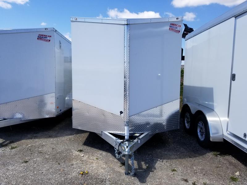 2018 American Hauler Industries Aluminum 7x14 Night Hawk Enclosed Cargo Trailer