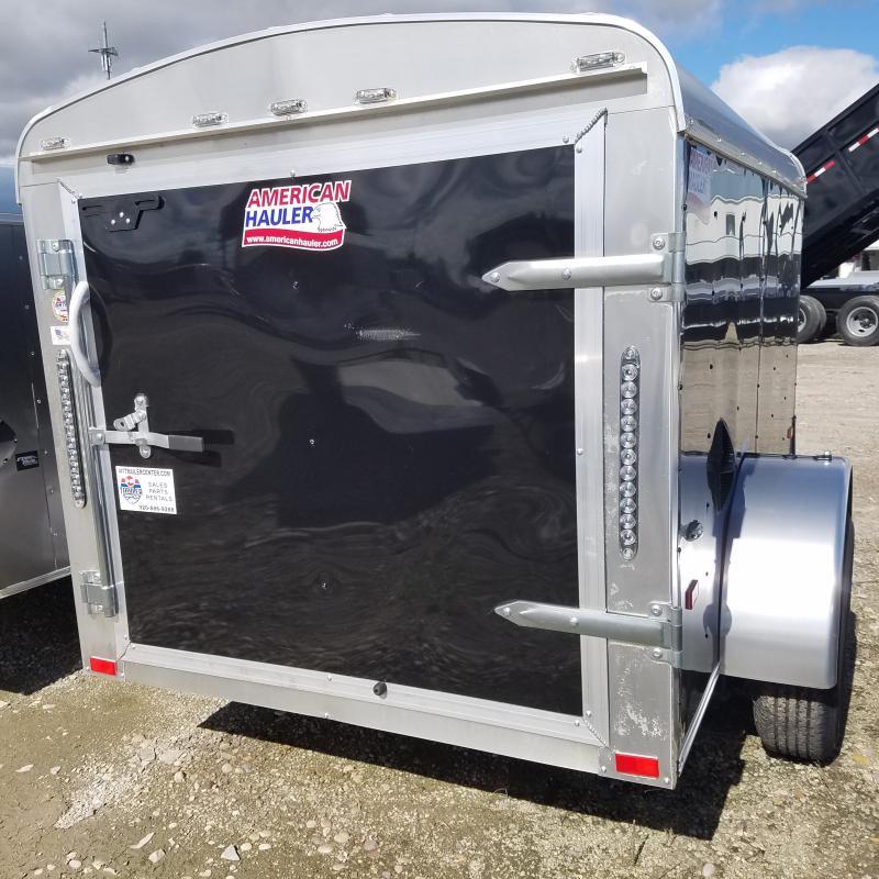 2019 5x10  American Hauler Industries Air'lite Enclosed Cargo Trailer