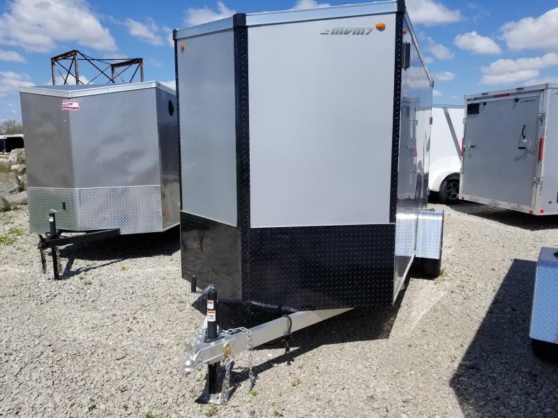 2019 MVM7 Alum Enclosed 6x12 Cargo Trailer