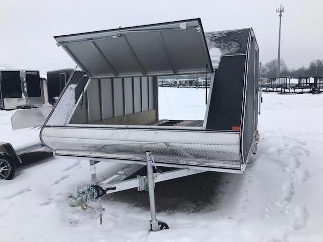 2020 Alcom-Stealth Snow Snowmobile Trailer
