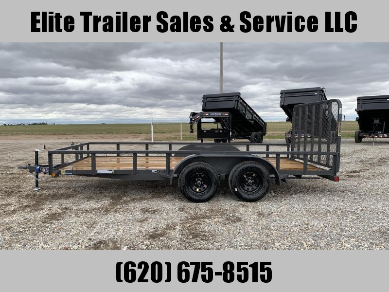 "2020 Load Trail  83"" x 16' Tandem Axle Utility Trailer"