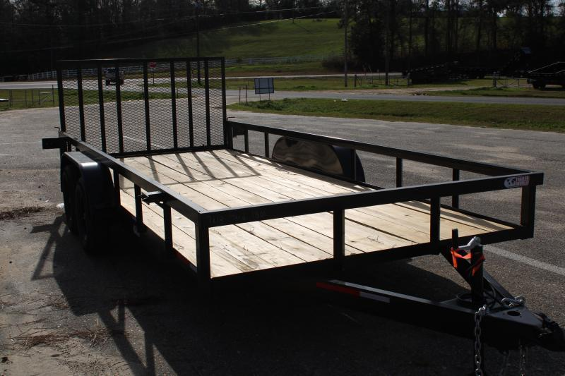 2020 Trailer World WG716 7K Utility Trailer W/ Brake