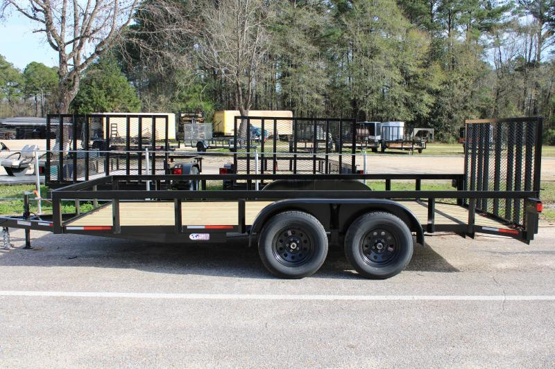 2020 Trailer World WG716 7K Utility Trailer W/ Brake/Dovetail