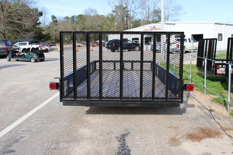 Trailer World 7'X16' 7K Utility Trailer W/ Brake & 1' Mesh Sides