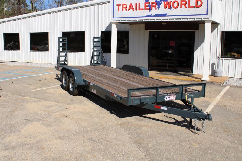 Trailer World 7'X20' 7K Equipment Trailer