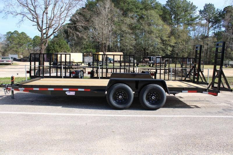 Trailer World 7'X22' 14K Equipment Trailer