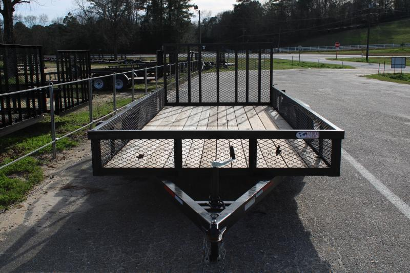 Trailer World 7'X16' 7K Utility Trailer W/ 1' Mesh Sides