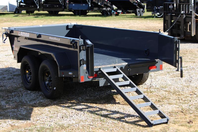 Lamar 5' X 10' Tandem Axle 7K Dump Trailer