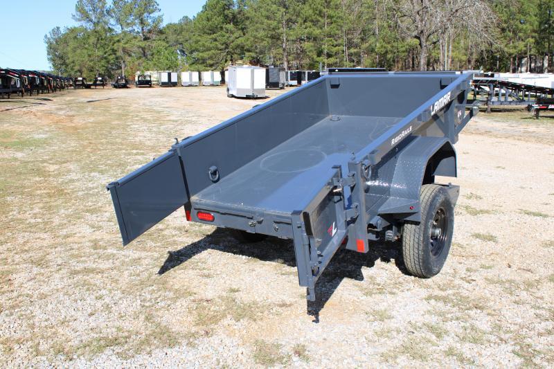Lamar 5' X 8' Single Axle 7K Dump Trailer