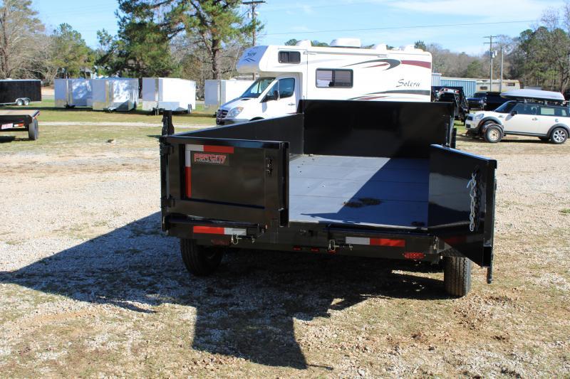 Port City 7'X16' 14K Tandem Axle Dump Trailer