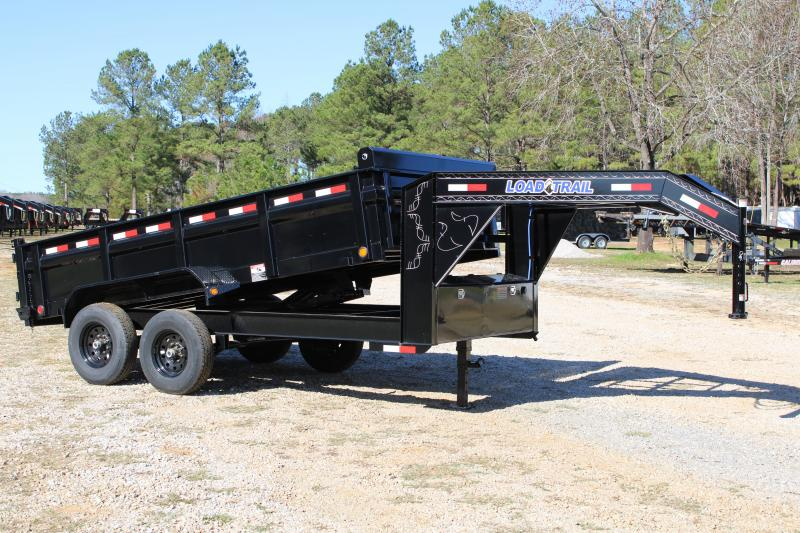 "Load Trail 83"" X 14' 14K Gooseneck Dump Trailer"
