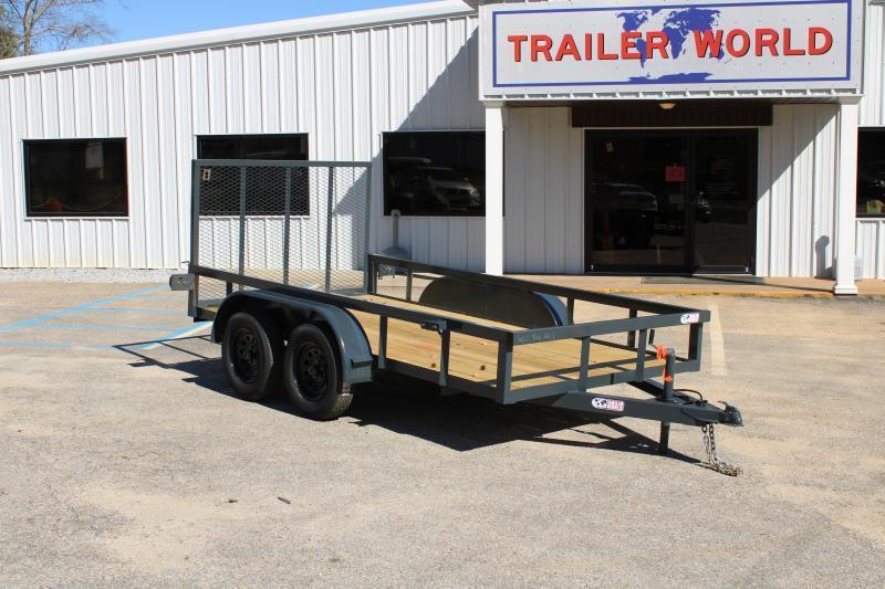 Trailer World 6'X12'TA 7K Utility Trailer