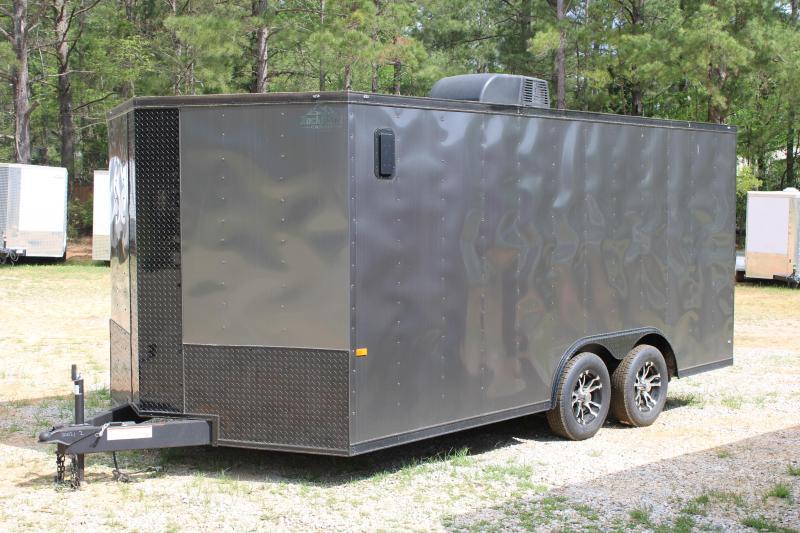 Rock Solid 8.5'X16' 7K Cargo Trailer