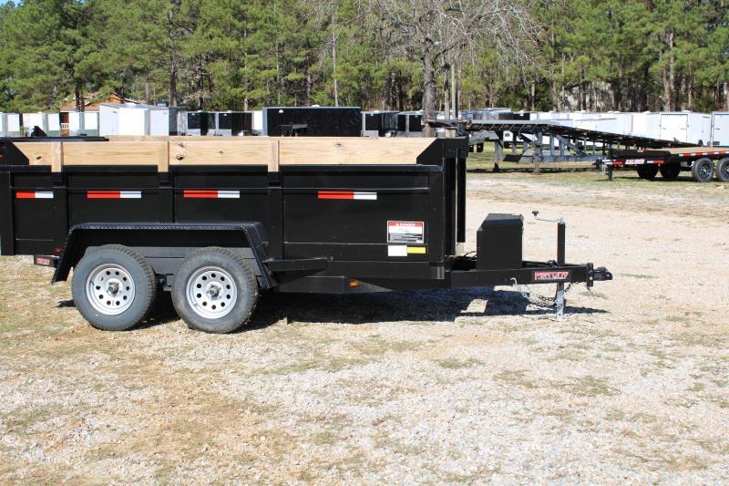 Port City 6' X 12' 7K Tandem Axle Dump Trailer