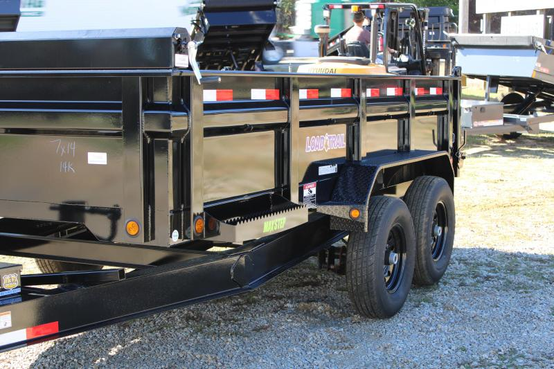 Load Trail 7'X14' 14K Dump Trailer