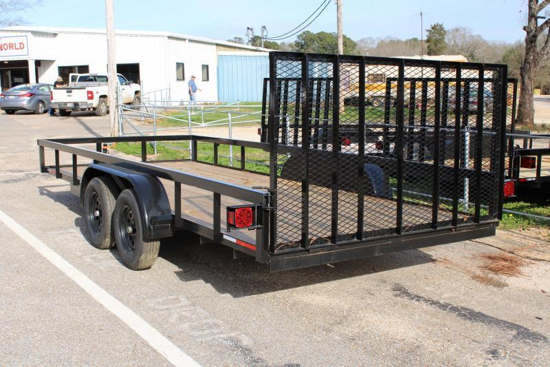 2020 Trailer World 7'X16' 7K Utility Trailer