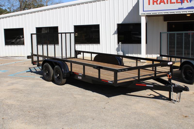 Trailer World 7'X18' 7K Utility Trailer W/ Brake