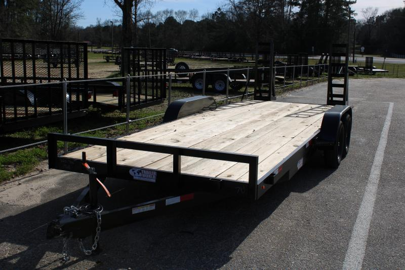 2020 Trailer World EF722B 7K Equipment Trailer