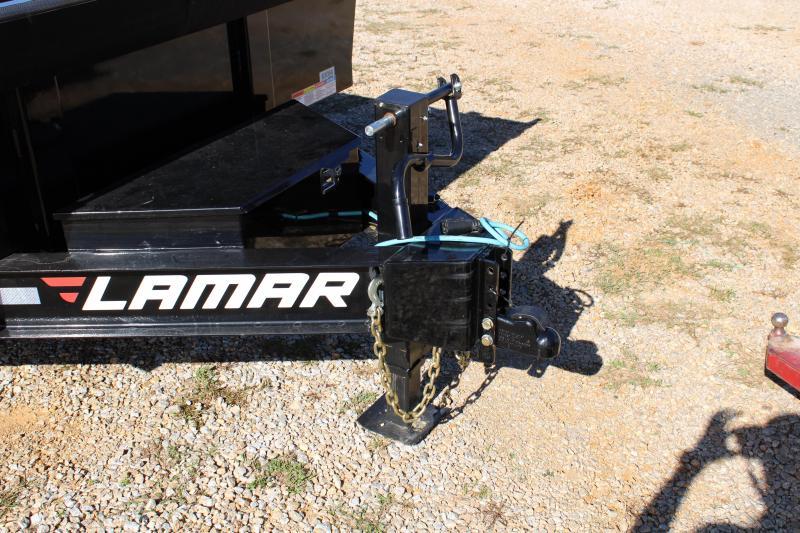 "Lamar 83""X14' Tandem Axle 14K Dump Trailer"