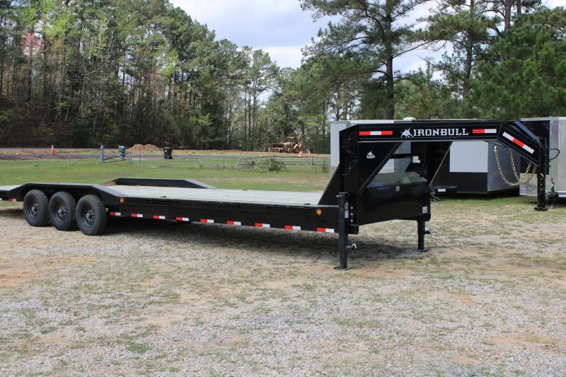 "Iron Bull 102""X36' 21K Gooseneck Equipment Trailer"