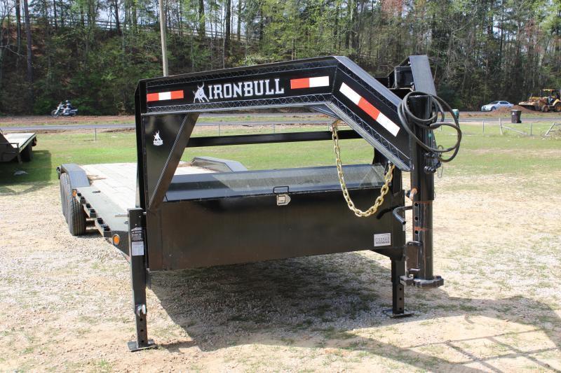 """Iron Bull 102""""X36' 21K Gooseneck Equipment Trailer"""