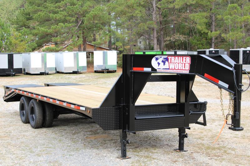 2020 Trailer World GH825 Flatbed Trailer